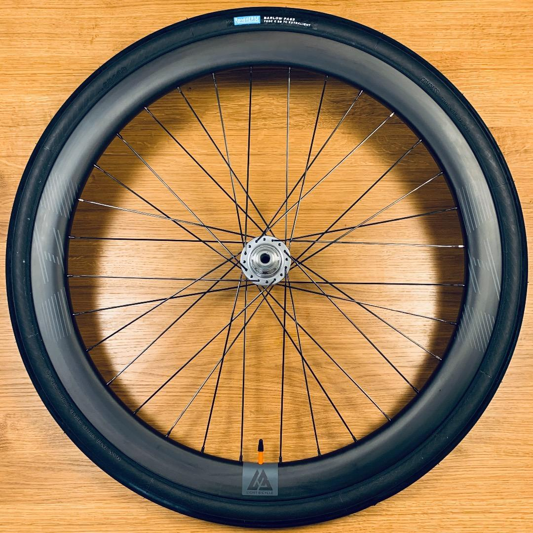 Light-Bicycle-WR45-45mm-carbon-road-wheel-with-Rene-Herse-700c-38mm-barlow-pass-tire