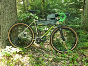 12k glossy 650b gravel road rims with WTB tires