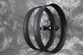 FAT680-26er-80mm-interal-width-matte-finish-ud-weave-fatbike-carbon-wheelset