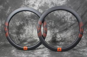 r55-55mm-road-disc-orange-decal-3k-weave-matte-finish-carbon-rim