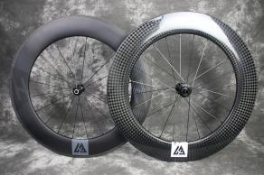 R88-rim-brake-Grooved-Graphene-Surface-ud-matte-R88d-road-disc-12k-glossy-700c-88mm-depth-Mullet-Wheelset
