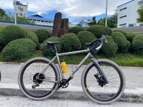 planet-x-titanium-gravel-bike-on-light-bicycle-38mm-carbon-wheels